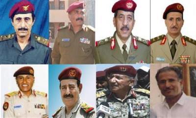 السيرة الذاتية للقادة العسكريين المعينين بقرار الرئيس