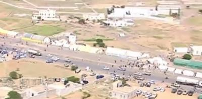 مخيم اعتصام جديد للحوثيين يتيح فرض حصا