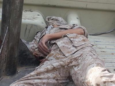 مواجهات قوية شمال صنعاءن وجثث الجنود و