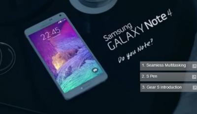 بالفيديو..مواصفات مواصفات جالاكسي نوت 4 Galaxy Note