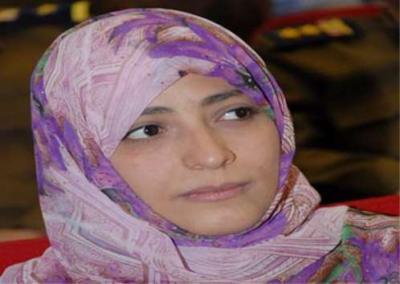 الناشطة توكل كرمان تنقلب على (الإخوان) وتهنئ الجيش المصري