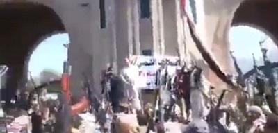 فيديو: هتافات قوية لرجال قبائل محافظة �