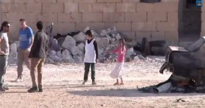 """""""بي بي سي"""": مشهد """"الطفل السوري المعجزة"""" ص"""