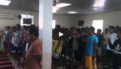 فيديو.. 60 شخصًا يُشهرون إسلامهم في مكتب