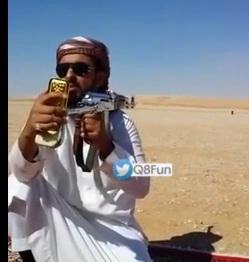 بالفيديو..سعودي غلب كل اليمنيين بالقنص .. ويتحدى