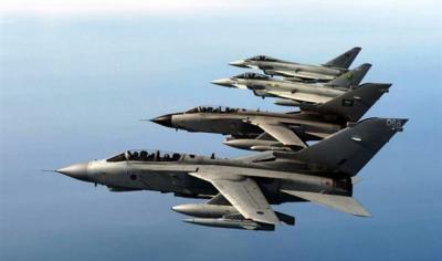 قبل قليل طائرات التحالف تغير فوق صنعاء، والمضادات الأرضية تلاحقها (تفاصيل)