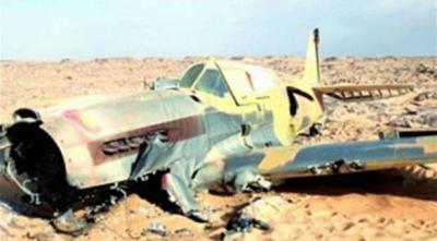 سقوط طائرة سعودية ومقتل قائدها ومرافقه