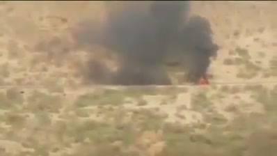 بالفيديو الجيش السعودي يطارد الحوثيين داخل الحدود اليمنية