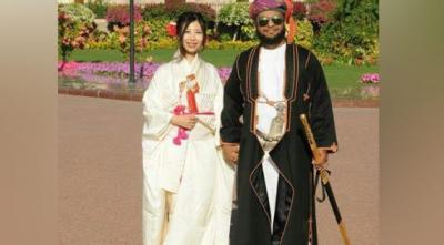 بالفيديو: أمير عُماني يتزوج من أميرة يابانية في مسقط