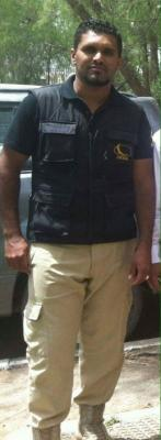 العثور على جثة احد حراس شركة نفطية مقتولا في حدة بصنعاء (صور)