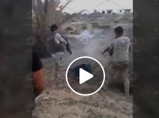 بالفيديو .. شاهد فضيحة كيف يتم قتل المصريين في سيناء بدم بارد بيد الجيش المصري ثم إعلان مقتلهم في اشتباكات