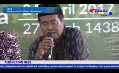 وفاة أحد أشهر قراء إندونيسيا أثناء تلاوته آيات سورة الملك (فيديو)