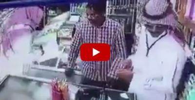 أول رد من وزارة العمل السعودية على المفتش السارق (فيديو)