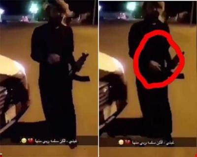 بالفيديو: سعودي يطلق النار على صديقه بعد رفع السلاح عليه