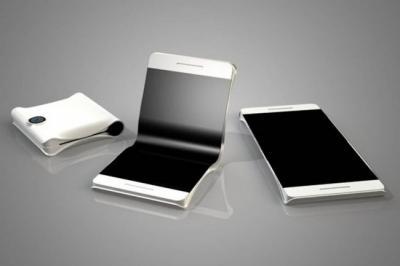 سامسونج : هاتف ذكي قابل للطي بشاشتين !