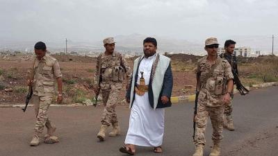 بالفيديو :ظهور مثير ونادر لمحمد علي الحوثي في محافظة عمران