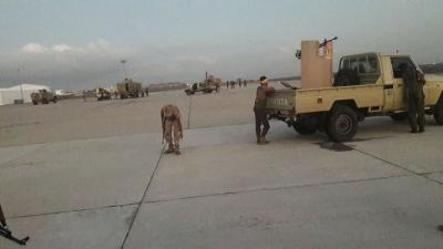 عاجل. اشتباكات مسلحة في مطار عدن الدولي