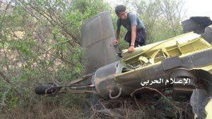 العثور على حُطام الطائرة الحربية السعودية في لودر أبين ولا يزال البحثُ جارياً عن طيار المقاتلة المقدم مهنا البيز