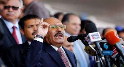"""تصريحات نارية من """"علي عبد الله صالح"""" في وجه """"أعداء"""" اليمن (فيديو)"""