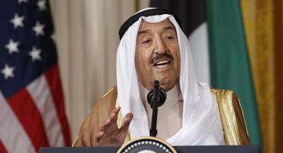 """أمير الكويت """"يحذر"""" السعودية وقطر (فيديو)"""