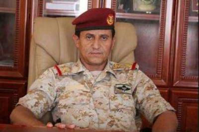 سبب اقالة اللواء الشدادي لقائد معسكر كوفل بصرواح مأرب