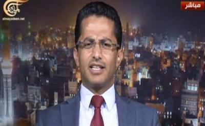 البخيتي :يتقدم بمبادرة  للرئيس هادي ولـ عبد الملك الحوثي ويحذر هادي بان خصومه بدءوا في نسج تحالفات لقلب الطاولة عليه في عدن .