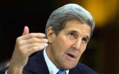 وزير الخارجية الأمريكي يدعو اليمنيين لتحديد مستقبلهم بأنفسهم