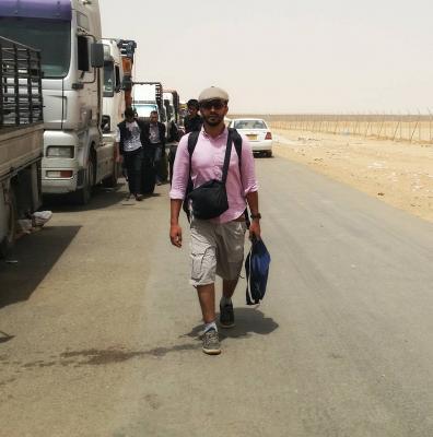 مواطن يمني يدخل السعودية عبر منفذ الوديعة في نصف ساعة .. ويكشف كيف دخل!!
