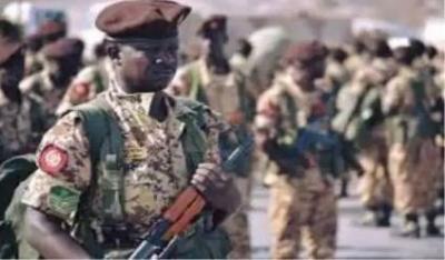 مصدر عسكري سوداني : يؤكد مقتل  21 عسكريا سودانيا في مواجهات مع الحوثيين في ميدي باليمن