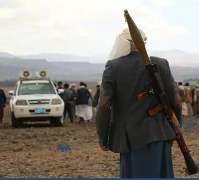اليمن : مقتل قيادي حوثي واثنين من مرافقيه  عقب صلاة العيد بسبب صرخة الحوثيين