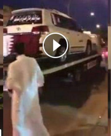 شاهد بالفيديو : الهدية التي ارسلها قطريون لمواطن كويتي اطلق اسم (قطر) على مولودته