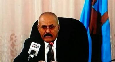 اليمن: شاهد بالفيديو الرئيس صالح يخرج عن صمته ويرد على بيان اللجان الشعبية للحوثيين (ياعيباه)