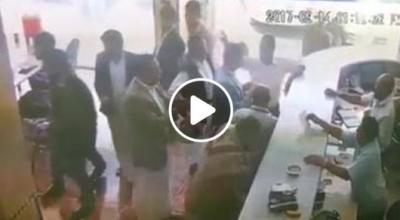 اليمن: شاهد بالفيديو سرقة اليوم الخميس بصنعاء مطعم الرباش شارع المقالح الاربعين (شاركوا للتعرف على اللص)