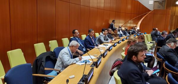 فرع المؤتمر الشعبي العام في أمريكا يستقبل وفد البرلمان اليمني المشارك في الأمم المتحده